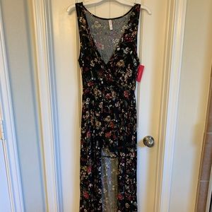 NWT High Low Romper Floral Pattern
